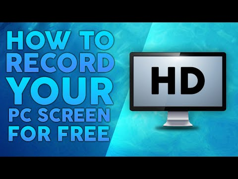 How To Record Your PC Screen For Free (in HD)