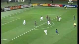 Internacional - Barcelona 17.12.2006 goals, highlights, tricks, skills {by Vladimir_G}