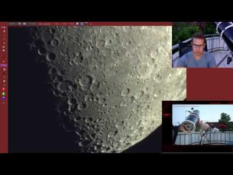 Livestream J.W.Astronomy [Moon, Jupiter & Saturn Live Through My Telescope]