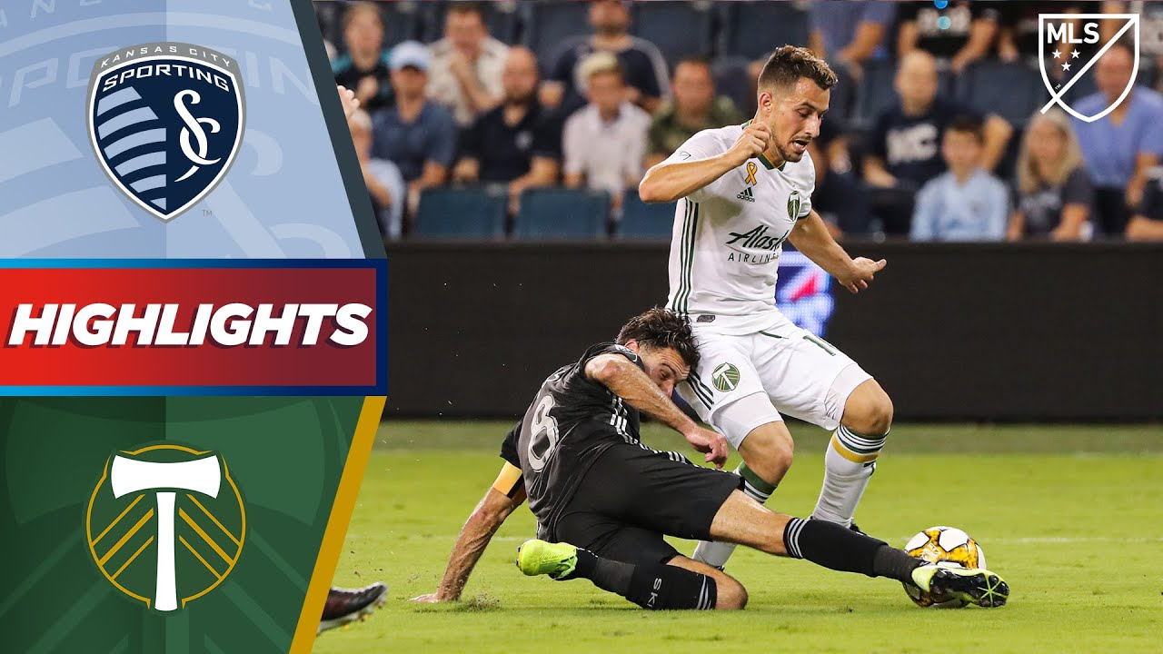Sporting Kansas City vs. Portland Timbers | 2 Red Cards in 2 Minutes! | HIGHLIGHTS