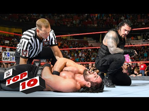 Thumbnail: Top 10 Raw moments: WWE Top 10, May 29, 2017