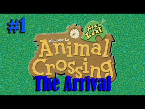 Animal Crossing: New Leaf (Part 1) ARRIVAL from Japanese to English... (Please Read the Description)