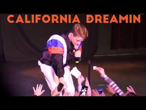 MattyB - California Dreamin (Live in NYC)
