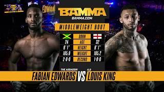 BAMMA 33: Fabian Edwards vs Louis King