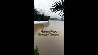 Massive Flood in Dimapur Nagaland   Pray for Dimapur.