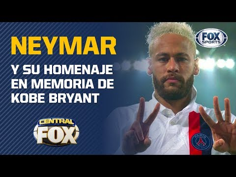 El homenaje de Neymar a Kobe Bryant