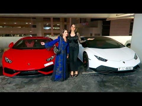Girl Lamborghini Owners In Dubai Youtube