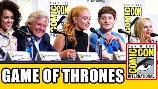 GAME OF THRONES Comic Con Panel (Part 2) - Sophie Turner, Iwan Rheon, Kristian Nairn