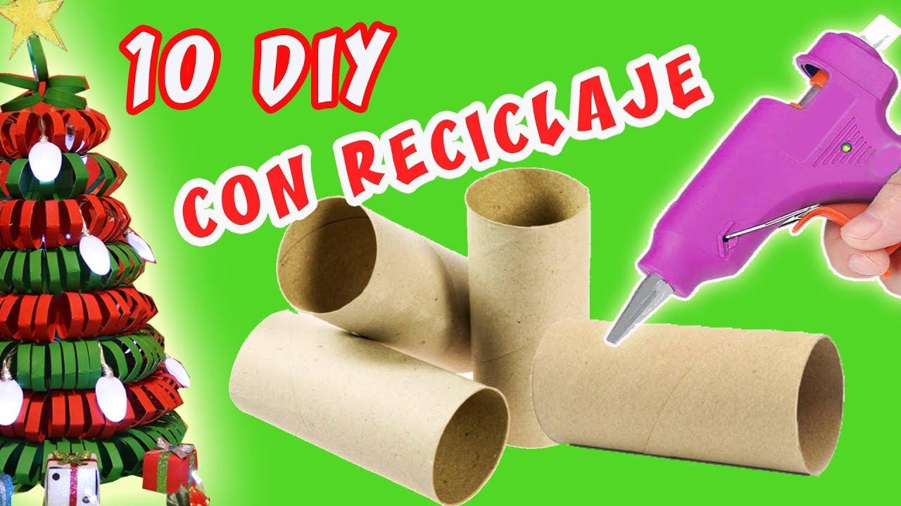 10 manualidades para navidad con reciclaje decoraci n - Decoracion con reciclaje para el hogar ...