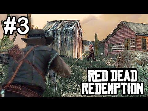 Red Dead Redemption - Part 3 - EPIC BANDIT SHOOTOUT! (RDR2 HYPE PLAYTHROUGH)