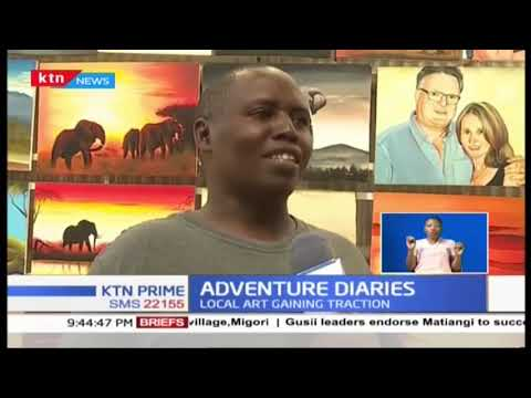 Local art gaining traction as tourists endeared by Kenyan art | Adventure Diaries