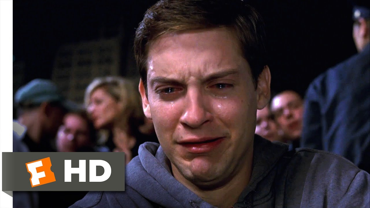 spider-man movie (2002) - uncle ben's death scene (4/10