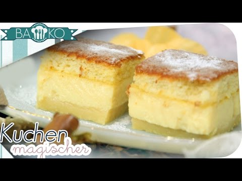 Magischer kuchen rezept bako youtube for Youtube kuchen