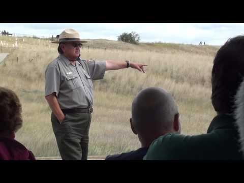 Story Telling by Ranger Interpreter Little Bighorn Battlefield National Monument