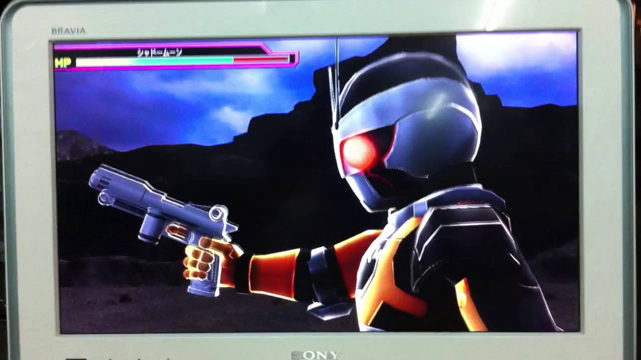 Kamen Rider Black RX vs Shadow Moon - Super Hero Generation ( PS3 )