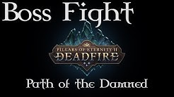 Pillars of Eternity 2: Deadfire - Scyorielaphas Dragon - Path of the Damned difficulty