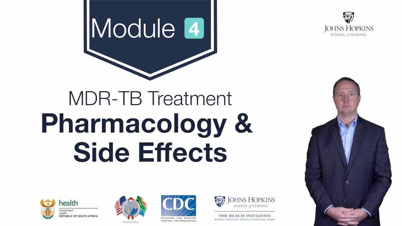 MDR-TB Module 4: Basics of MDR TB Pharmacology