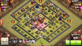 Clash of Clans- District X #1- Limmie VS nic32