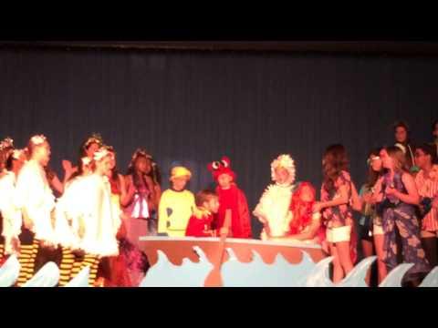 """Kiss the Girl"" Solo from the Little Mermaid Jr. - Kent Gardens Elementary School June 2014"