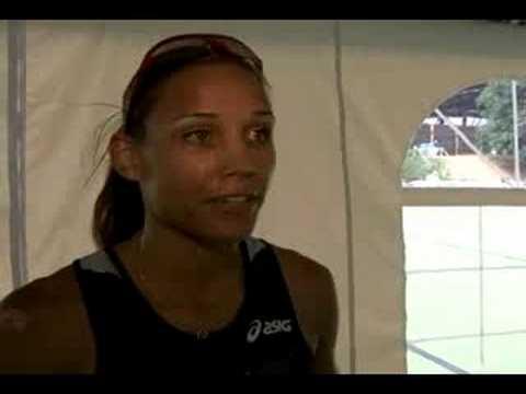 Lolo Jones on making the Beijing US Olympic team