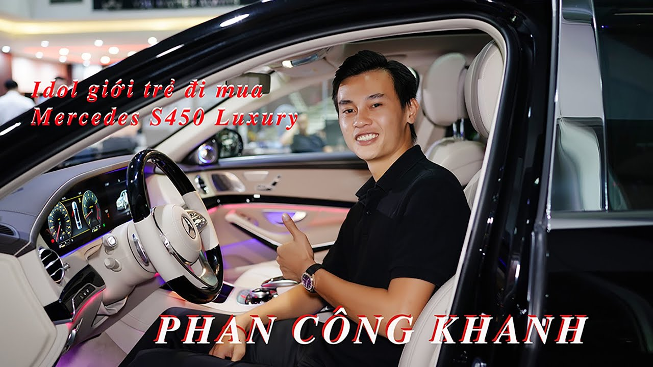Idol Giới Trẻ Khanh Supper lái McLaren 720s Spider đến nhận xe S450 Luxury