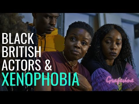 THE GRAPEVINE (UK) | BLACK BRITISH ACTORS & XENOPHOBIA | S3E33 (1/2)