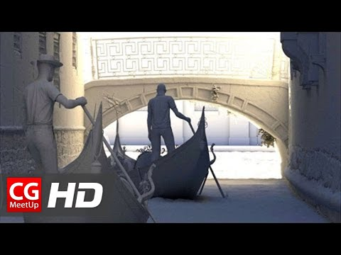 """CGI 3D Breakdown HD """"The Mysteries of Venice at night 3d Breakdown"""" by Luciano Neves 