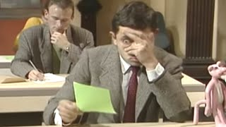Mr. Bean - The Exam(Mr. Bean has to take an exam but he doesn't know any of the answers! FOR MORE BEAN CLICK HERE: http://bit.ly/1rhPvax Stay tuned, click here: ..., 2012-10-10T16:39:13.000Z)