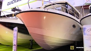 2016 Quicksilver Captur 905 Pilothouse Motor Boat - Walkaround -  2015 Salon Nautique de Paris