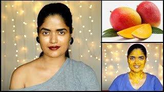 Mango Face Pack for Skin Lightening | Gives You Glowing & Smooth Skin | Anti-aging/ Tan removing