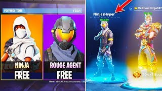 NEW Fortnite UPDATE! - How To Get NINJA SKIN + ROGUE AGENT in FORTNITE! - Fortnite Battle Royale