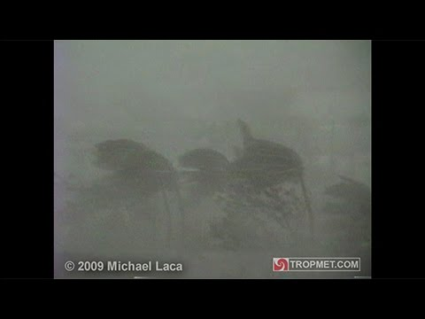 Hurricane Hugo - Luquillo, Puerto Rico - September 18, 1989
