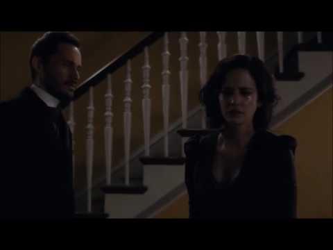 Penny Dreadful Dracula and Vanessa final kiss 307