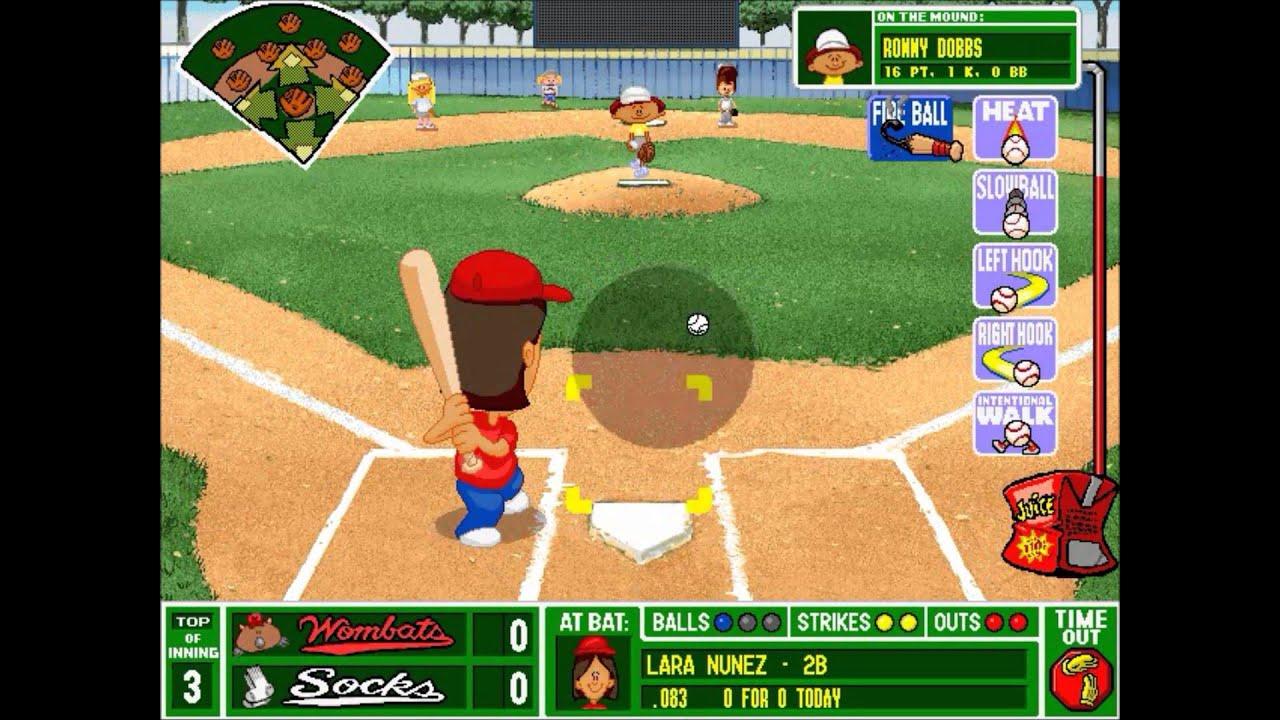 Backyard Baseball League (PC) Tournament Game #6: Which ...