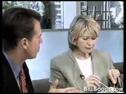 Martha Stewart Interview with Bill Boggs