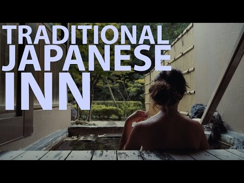 Staying at an Exclusive RYOKAN & ONSEN in JAPAN (Traditional Japanese Inn)