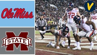 Ole Miss vs Mississippi State Highlights | Week 14 | College Football 2019