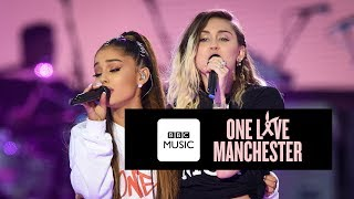 Miley Cyrus and Ariana Grande - Don't Dream It's Over (One Love Manchester) thumbnail