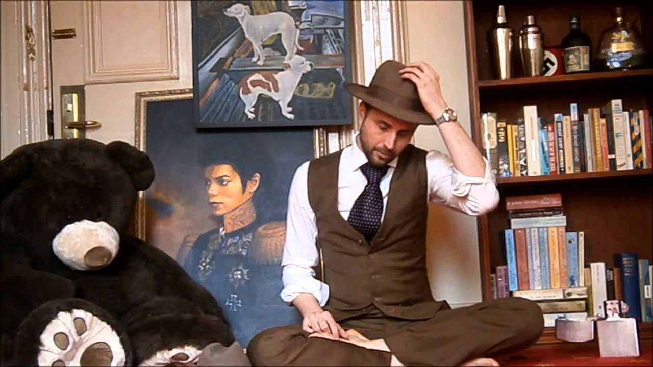 e7b89088872 Know Your Hats: Fedora vs Trilby - YouTube