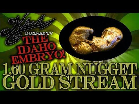 """🔴-gold-stream-#198---the-""""idaho-embryo""""-nugget!-gold-and-silver-coins!"""