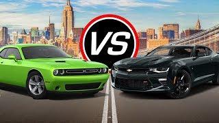 2018 Chevrolet Camaro vs. 2018 Dodge Challenger Comparison