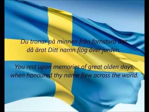 Swedish National Anthem -