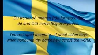 """Swedish National Anthem - """"Du Gamla, Du Fria"""" (SV/EN)"""