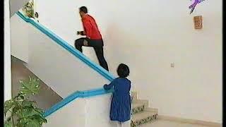 كاميرا خفية تونسية : النادل والتوائم في النزل. Caméra cachée