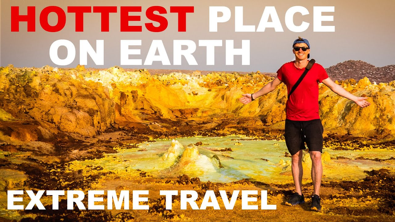 The HOTTEST PLACE on EARTH (Danakil Depression Ethiopia)