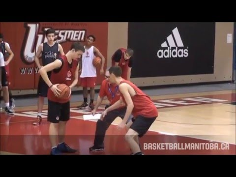 Rich Chambers - Full Court Man to Man Defense Basketball with Run & Jump
