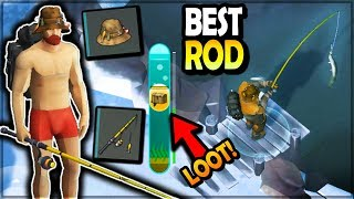 TREASURE CHEST LOOT (New Professional Fishing Rod + LUCKY HAT) - Last Day on Earth Survival Season 3