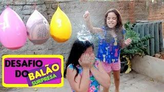 DESAFIO DO BALÃO SURPRESA  Challenge of the surprise balloon