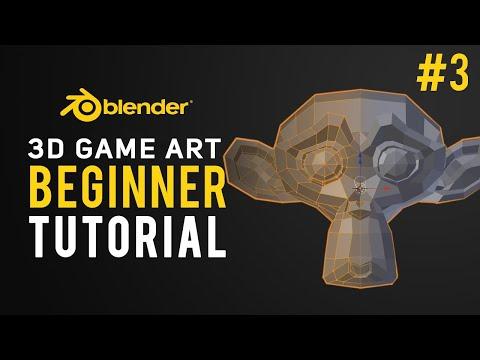 3D Game Design   Blender Tutorial 2.8 Beginner #3 thumbnail