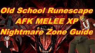 NEW AFK NIGHTMARE ZONE GUIDE! | MELEE XP